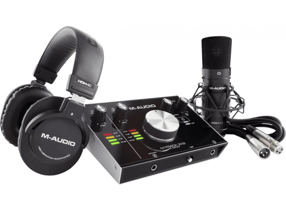 Interface Áudio USB M-Audio M-Track 2x2 Vocal Studio Pro