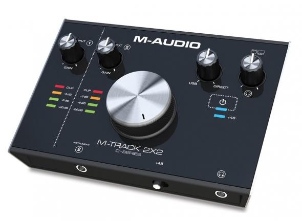 Interface Áudio USB M-Audio M-Track 2x2