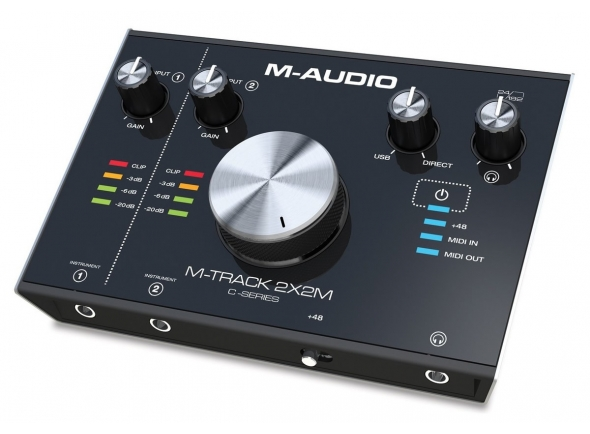 Interface Áudio USB M-Audio M-Track 2x2M