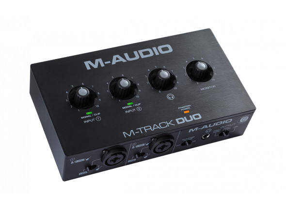 Interface Áudio USB M-Audio  M-Track DUO