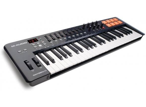 Teclados MIDI Controladores M-Audio Oxygen 49 Mk4