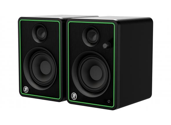 Monitores de estúdio activos Mackie CR4-X