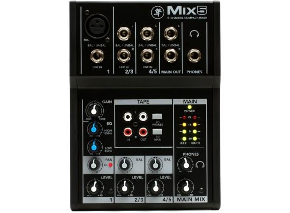 Mesa de Mistura Analógica Mackie MIX5 B-Stock