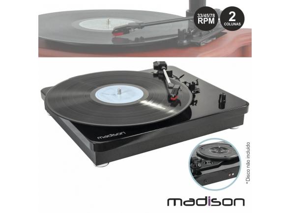 Gira-discos Madison MAD-RT200SP