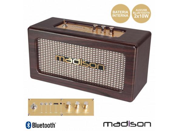 Sistemas Portáteis com Bateria Madison  MAD-VINTAGE-WD