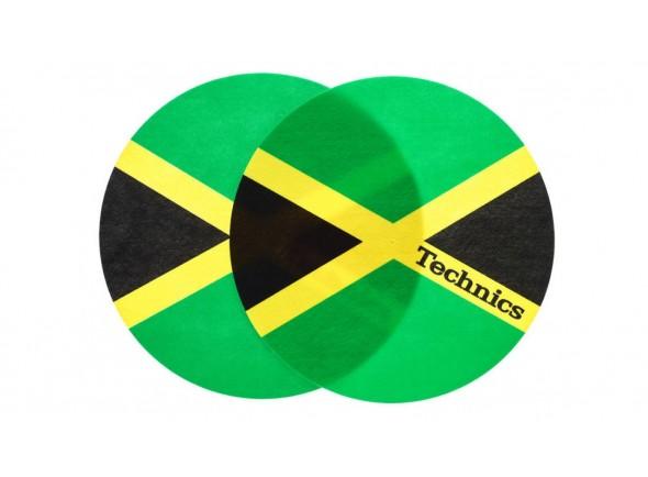 Tapete deslizante para Gira-Discos/Slipmats Magma Technics Slipmat Jamaika