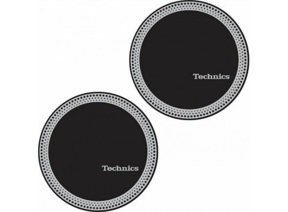 Preço por par/Slipmats Magma Technics Slipmat Strobe 3