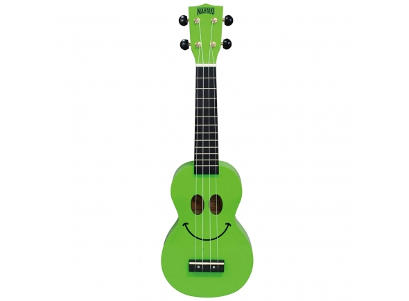 Ukulele Mahalo Smiley Ukulele Green