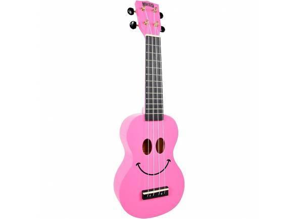 Ukulele/Ukulele Mahalo Smiley Ukulele Pink