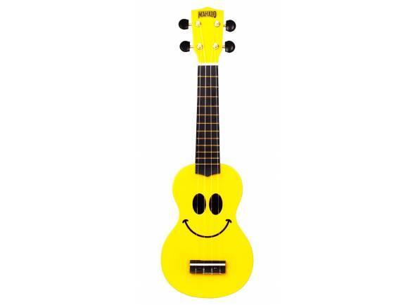 Ver mais informações do Ukulele Mahalo Smiley Ukulele Yellow