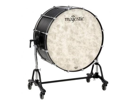 """Bombos de concerto Majestic Bombo de concerto com suporte MCB 32"""" x 18"""" MCB3218"""