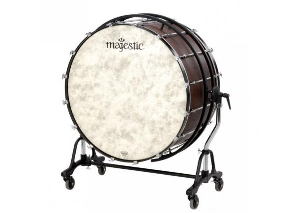 "Bombos de concerto Majestic Bombo de concerto com suporte MPB 32"" x 18"" MPB3218"
