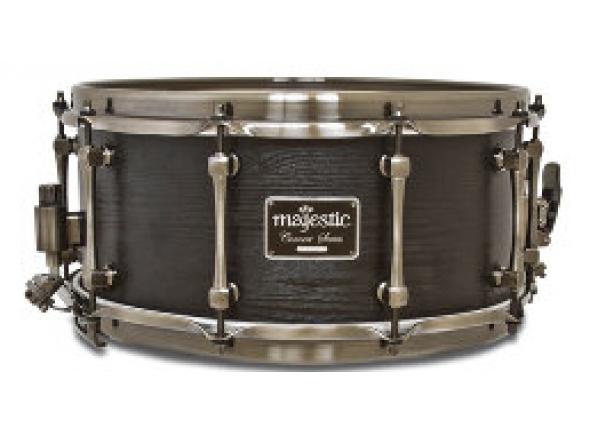 """Tarola Majestic Caixa de concerto Black em Maple 14"""" x 6,5"""" EMCS1465MA"""