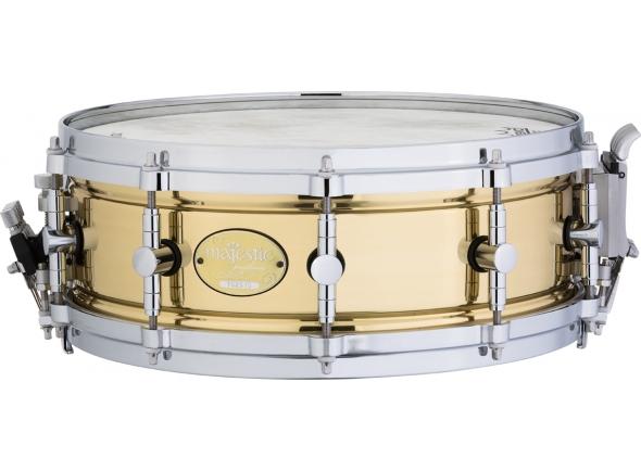 """Tarola Majestic Caixa de concerto em Brass 14"""" x 5"""" MPS1450BR"""