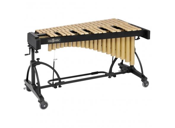 Marimbas Majestic Vibrafone Artist 3 oitavas (F3-F6) dourado V7530G