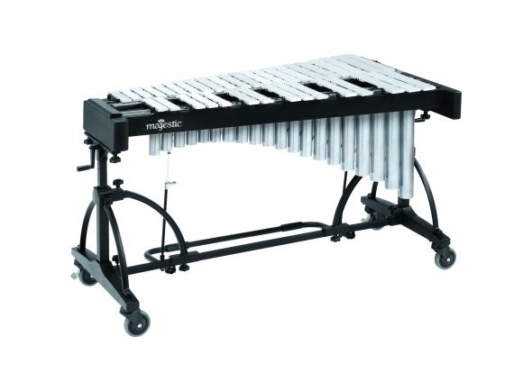 Marimbas Majestic Vibrafone Artist 3 oitavas (F3-F6) prateado V7530S