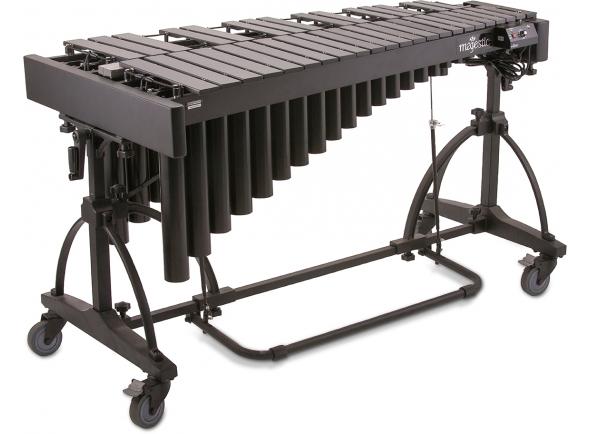 Marimbas Majestic Vibrafone Artist 3 oitavas (F3-F6) preto V7530BCF