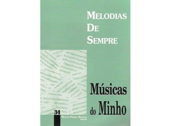 Manuel Pereira Resende Melodias de Sempre Músicas do Minho