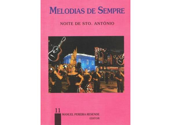 Livro de canções Manuel Pereira Resende Melodias de Sempre Nº11