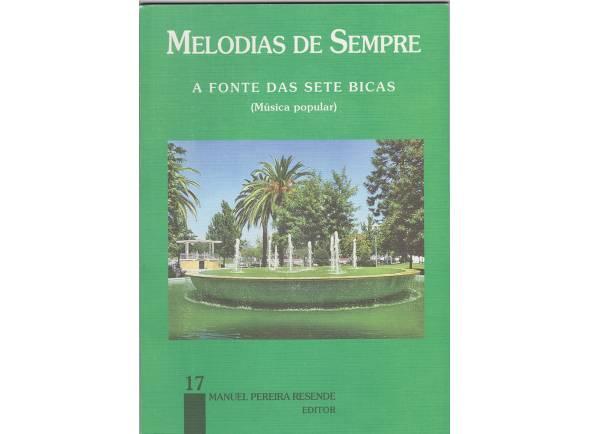 Livro de canções/Livro de canções Manuel Pereira Resende Melodias de Sempre nº17