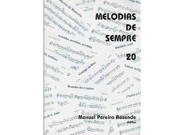 Livro de canções Manuel Pereira Resende MELODIAS DE SEMPRE Nº20