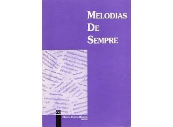 Livro de canções Manuel Pereira Resende Melodias de Sempre Nº21