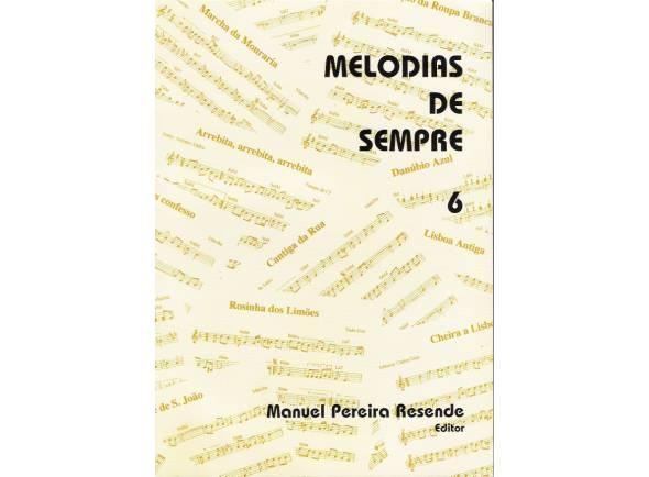 Livro de canções Manuel Pereira Resende Melodias de Sempre Nº6
