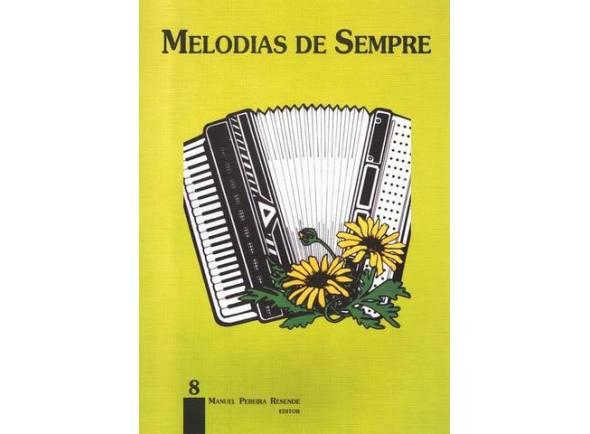 Livro de canções/Livro de canções Manuel Pereira Resende Melodias de Sempre nº8