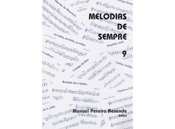 Livro de canções/Livro de canções Manuel Pereira Resende Melodias de Sempre nº9