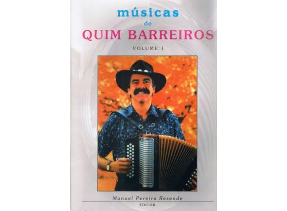 Método para aprendizagem/Livro de canções Manuel Pereira Resende Músicas de Quim Barreiros Volume I