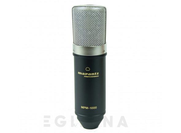 Microfone condensador membrana larga/Microfone de membrana grande Marantz MPM-1000