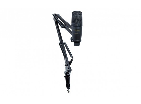 Microfone USB/Microfone USB Marantz POD PACK 1 - Podcasting Kit
