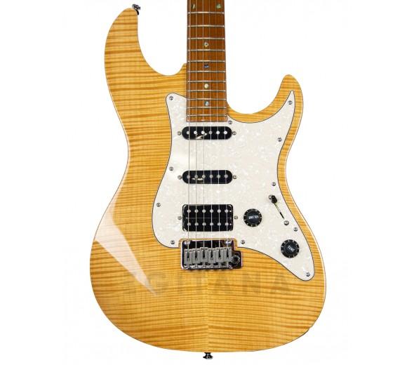 Guitarra Elétrica/Guitarras formato ST Marcus Miller Larry Carlton S7 FM in Natural