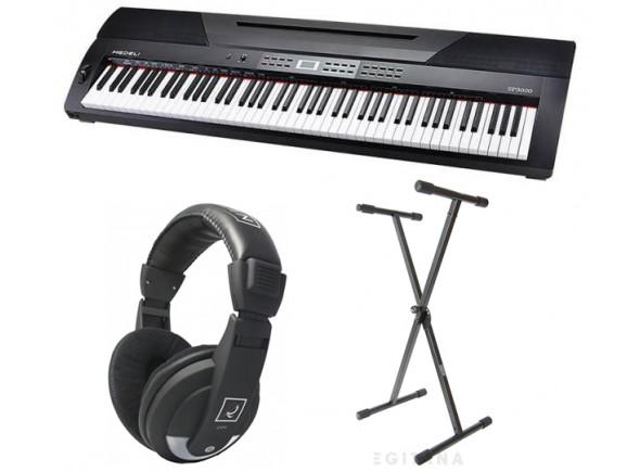 Pianos Digitais Portáteis  Medeli  SP3000/BK (DP-26) Set
