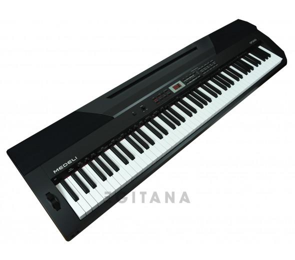 Piano Digital/Pianos Digitais Portáteis  Medeli   SP3000/BK (DP-26)
