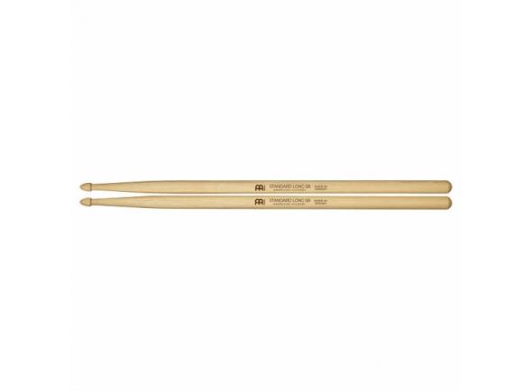 Baqueta 5B/Baqueta 5B Meinl 5B Standard Long Hickory