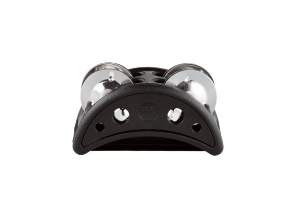 Tamborim de pé/Tamborim  Meinl CFJS2S-BK Foot Tambourine
