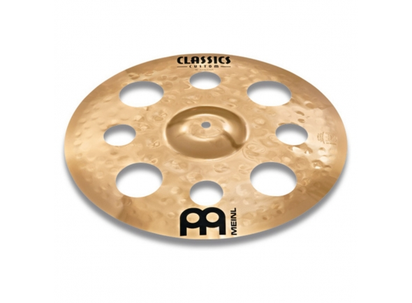 Pratos Crash Meinl Classics Custom 18'' Trash Crash Cymbal