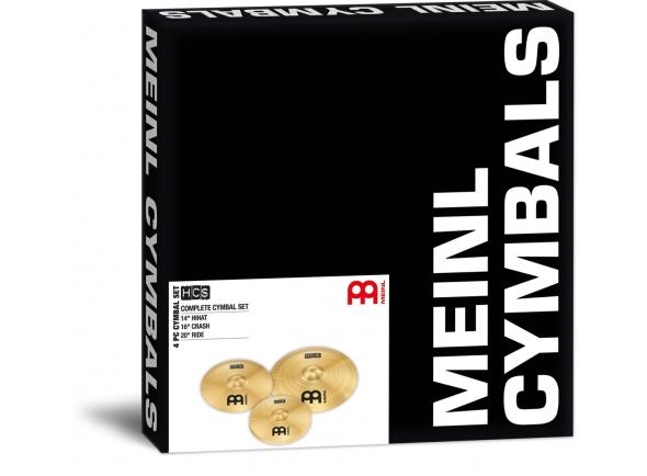 Conjunto de pratos para bateria/Conjunto de Pratos Meinl HCS Cymbal Set Standard