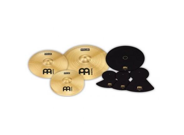 Conjunto de pratos/Conjunto de Pratos Meinl HCS141620+MCM