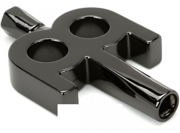 Chave de Afinação/Chaves de afinação e afinadores de bateria Meinl Kinetic Drumkey Black Nickel