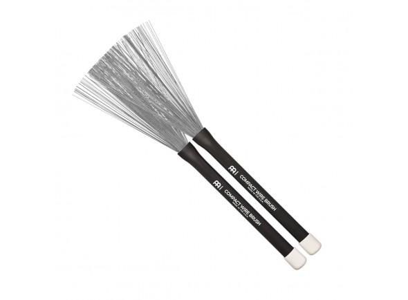 Vassouras para Percussão/Vassouras Meinl SB301 Compact Wire Brush