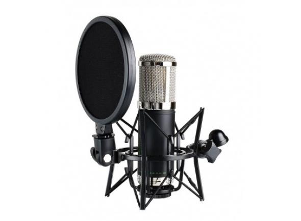 Microfone Vocal Condensador Monkey Banana Bonobo Black