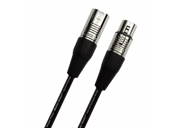 Cabos Monster Cabo para Microfone/Cabos XLR / Microfone Monster   CLAS-M-10 WW 3m
