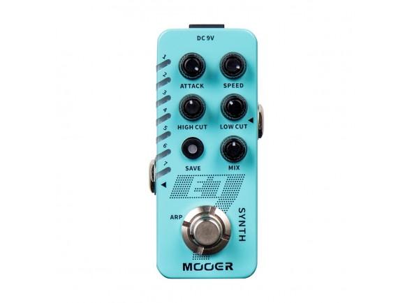 Sintetizadores para guitarras e baixos Mooer E7 Polyphonic Guitar Synth.