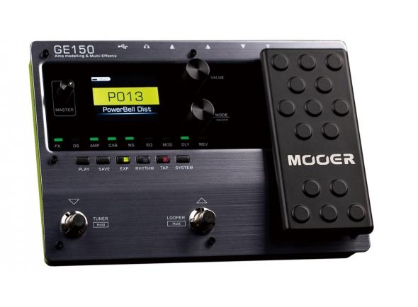 Pedaleiras para guitarra elétrica Mooer GE150 Amp Modelling & Multi