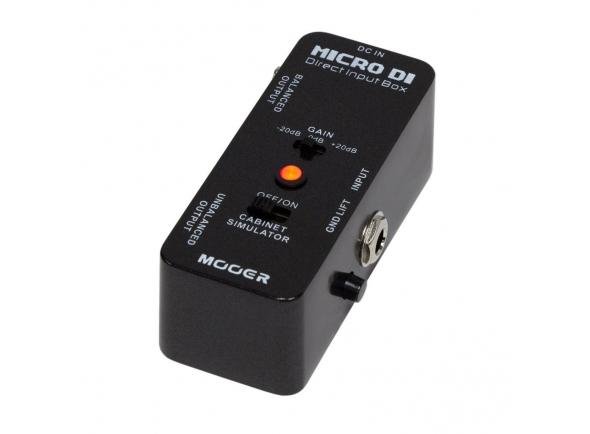 Outros efeitos para guitarra elétrica Mooer Micro DI
