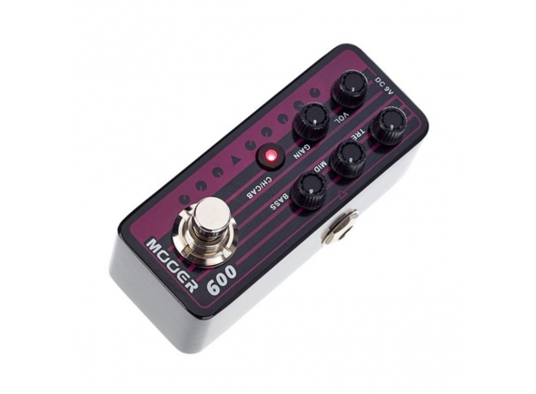 Preamps de guitarra Mooer Micro PreAMP 009 Blacknight