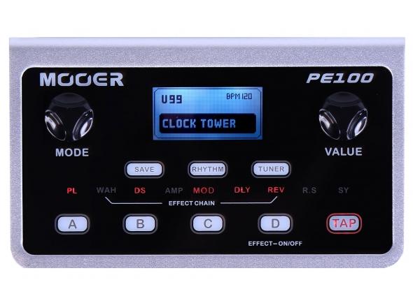 Pedaleiras para guitarra elétrica Mooer PE 100