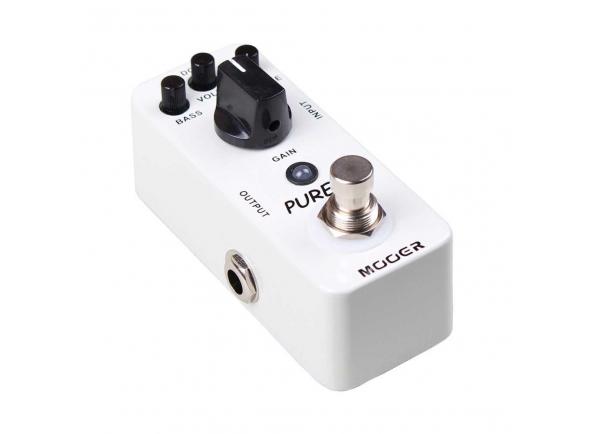 Outros efeitos para guitarra elétrica Mooer Pure Boost